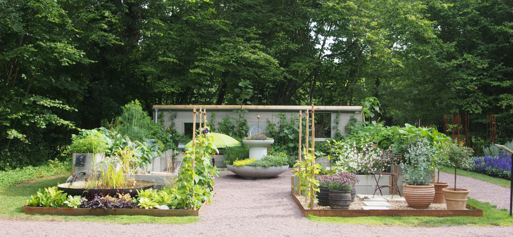 Idéträdgård 2 aug Solliden 2017